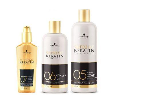 schampo för keratinbehandlat hår